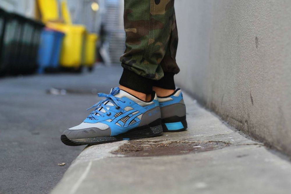 asics gel lyte iii super blue