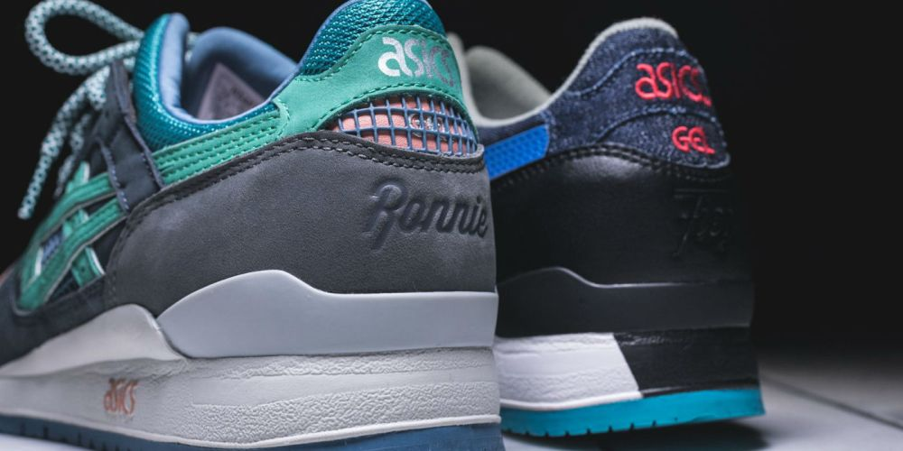 best ronnie fieg collaborations: asics gel lyte III homage ronnie fieg