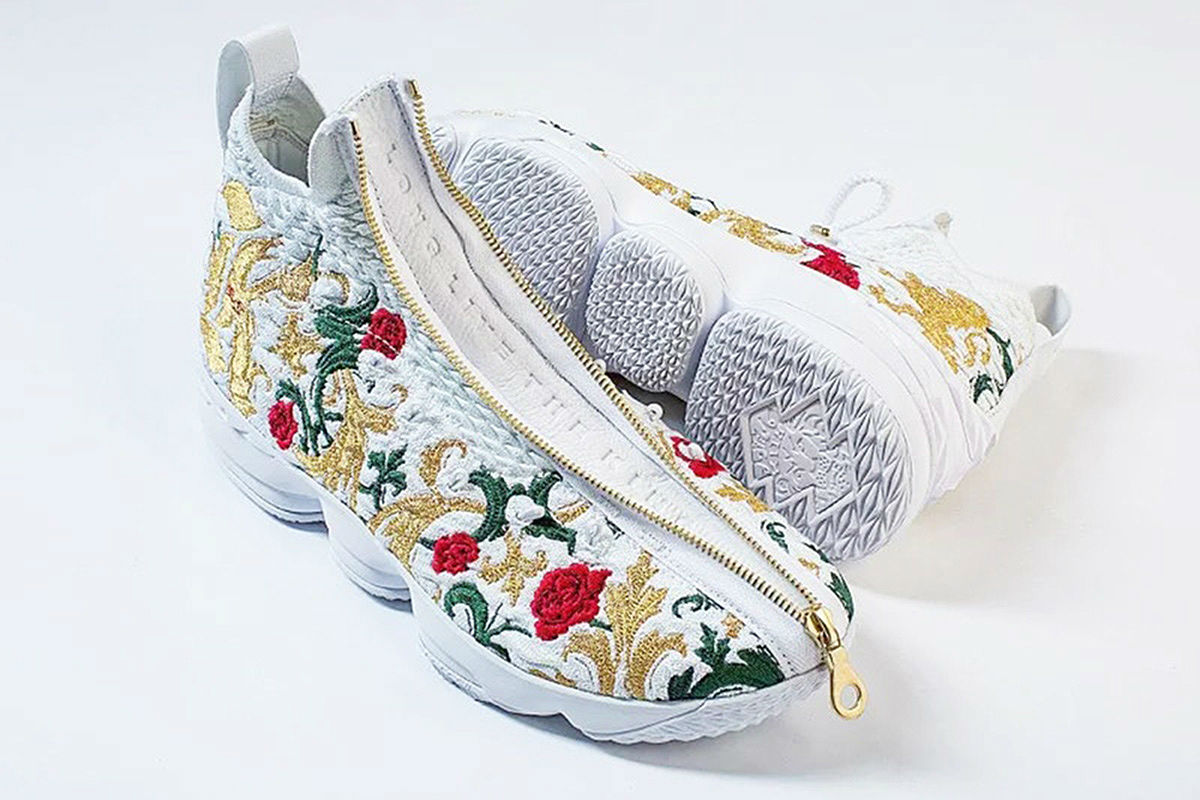 nike lebron 15 floral release date