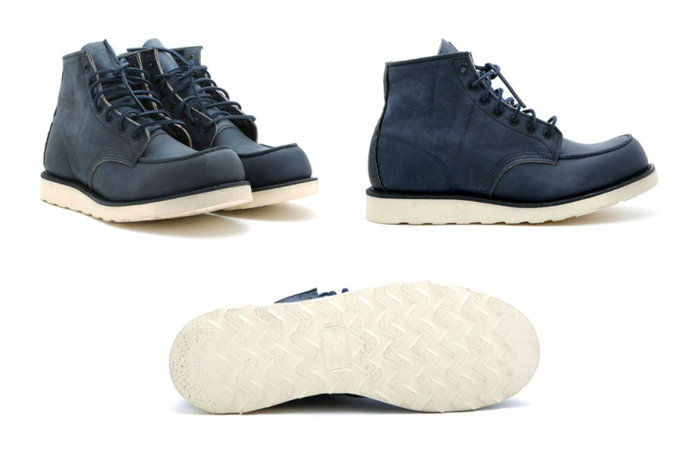 "Ronnie Fieg x Red Wing 6"" ""Navy Ash"" 875 Boots"