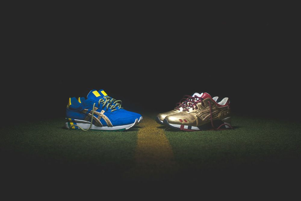 "Ronnie Fieg x Asics ""Kith Football Equipment"" Pack"