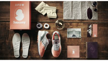 Afew x Saucony Shadow Master 5000 is a Poetry Lesson