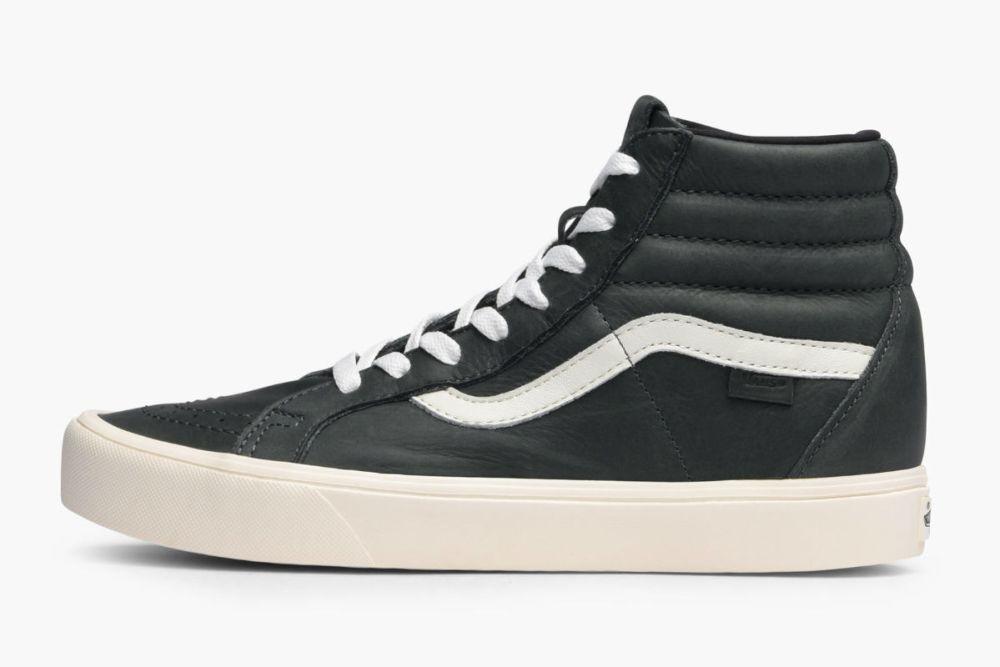 Vans Sk8-Hi Horween Leather Black