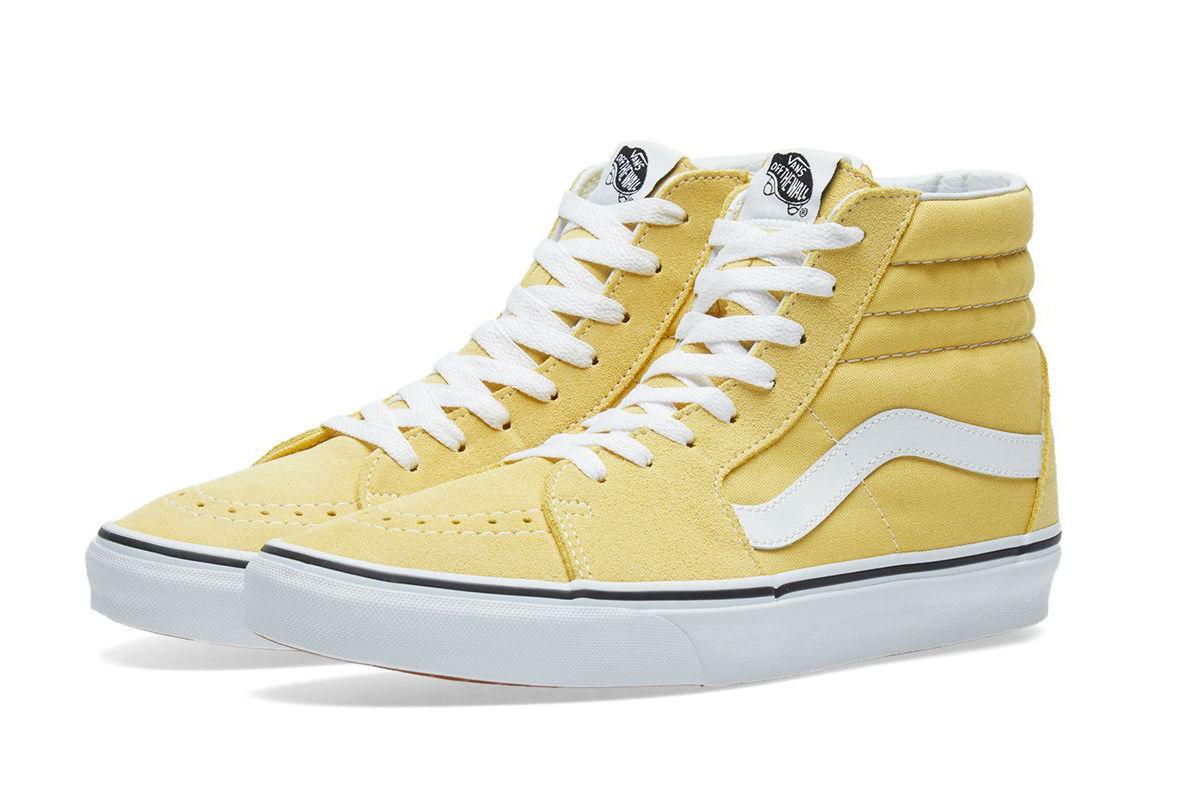 Buy yellow suede high top vans 8897363b8e0f