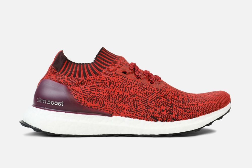 adidas ultra boost uncaged dark burgundy tactile red