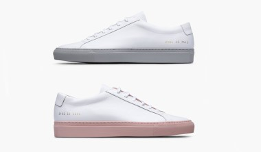 common projects achilles low w colored sole