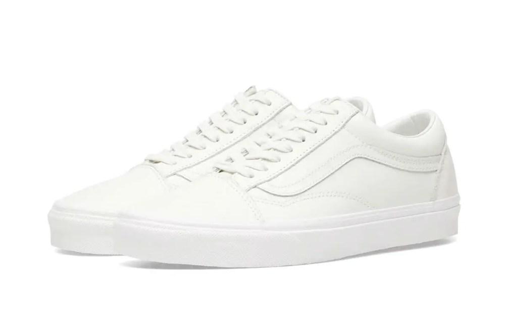 Vans UA Old Skool Leather Blanc de Blanc