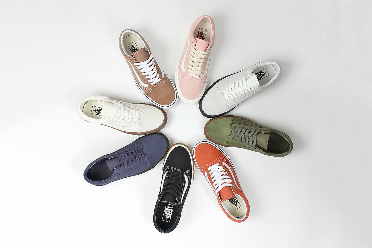 best vans old skool colorways