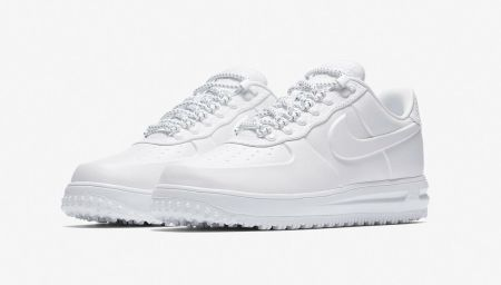 Winter Whites: Nike Lunar Force 1 Duckboot Low