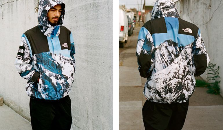 Mountain Views with Supreme and The North Face