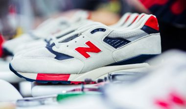 made in usa New Balance Manufacture