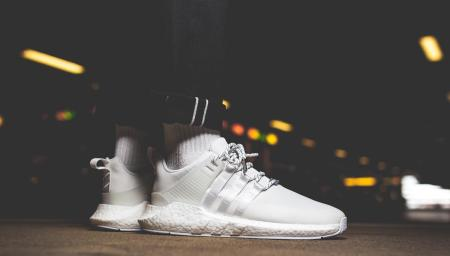 "Winter Ready adidas EQT Support 93/17 Gore-Tex ""All White"""