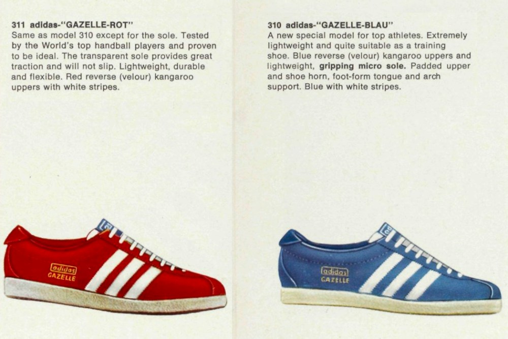 finest selection aaf36 9b79e adidas Gazelle History