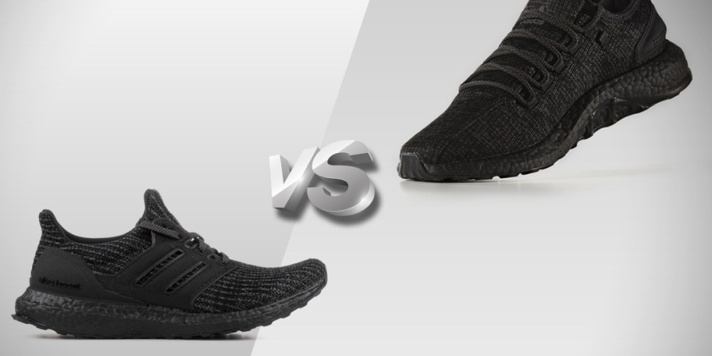 the latest 89b59 3193b adidas ultra boost vs pure boost