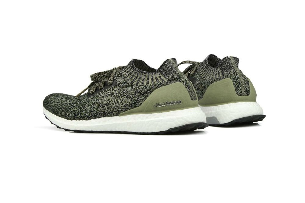 ultraboost uncaged olive green