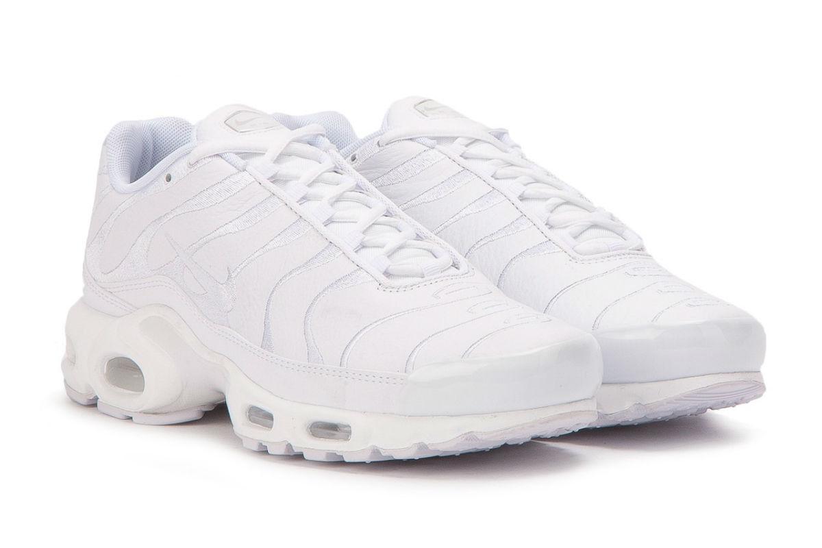 Nike Air Max Plus Triple White Release