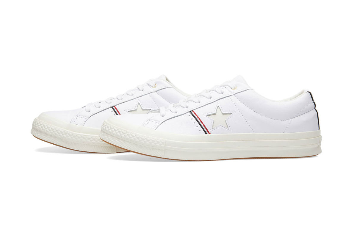Converse One Star OX Leather in White