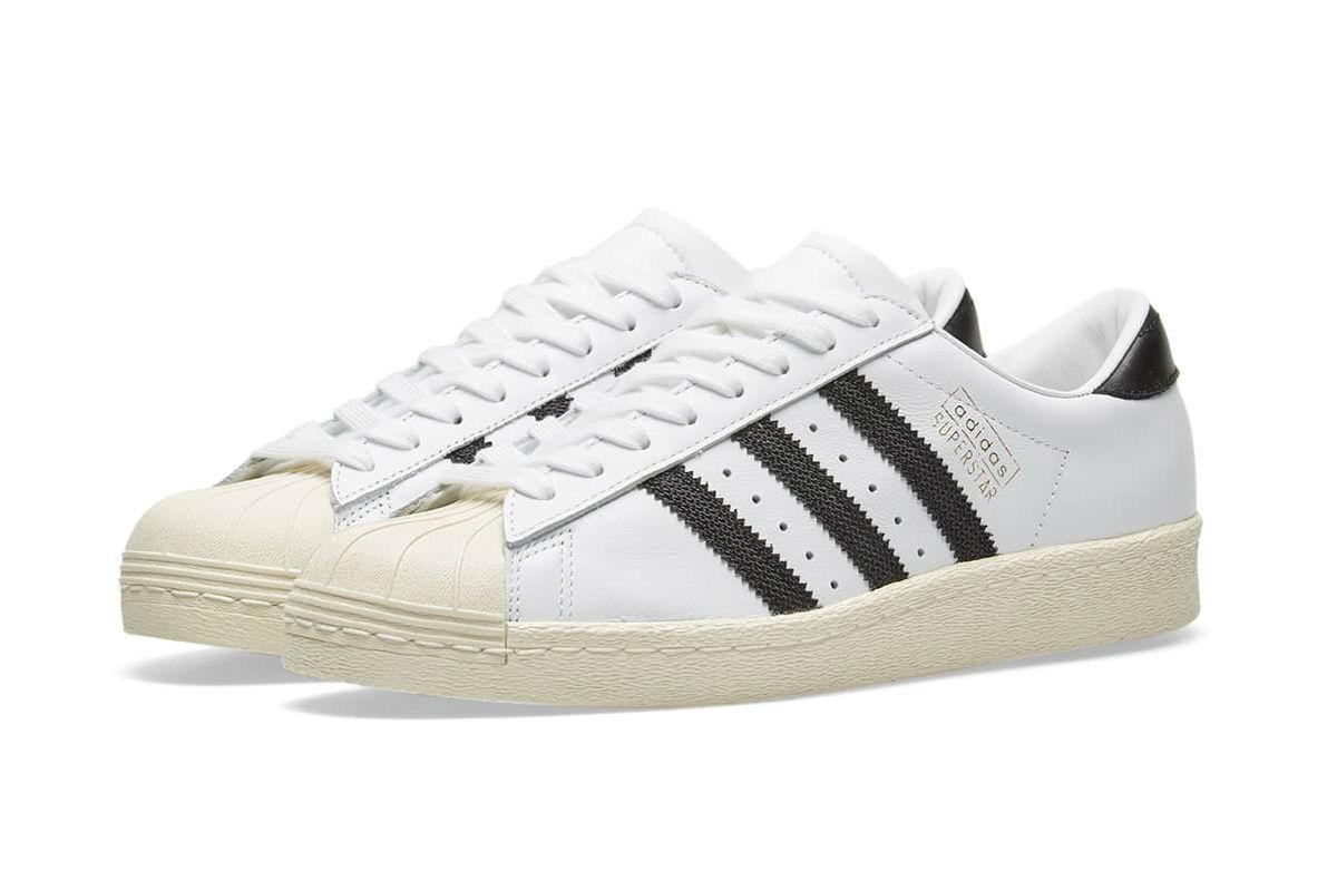 adidas Superstar OG White and Black