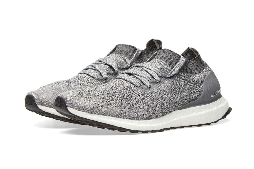 adidas UltraBOOST Uncaged Grey Two and Grey Four