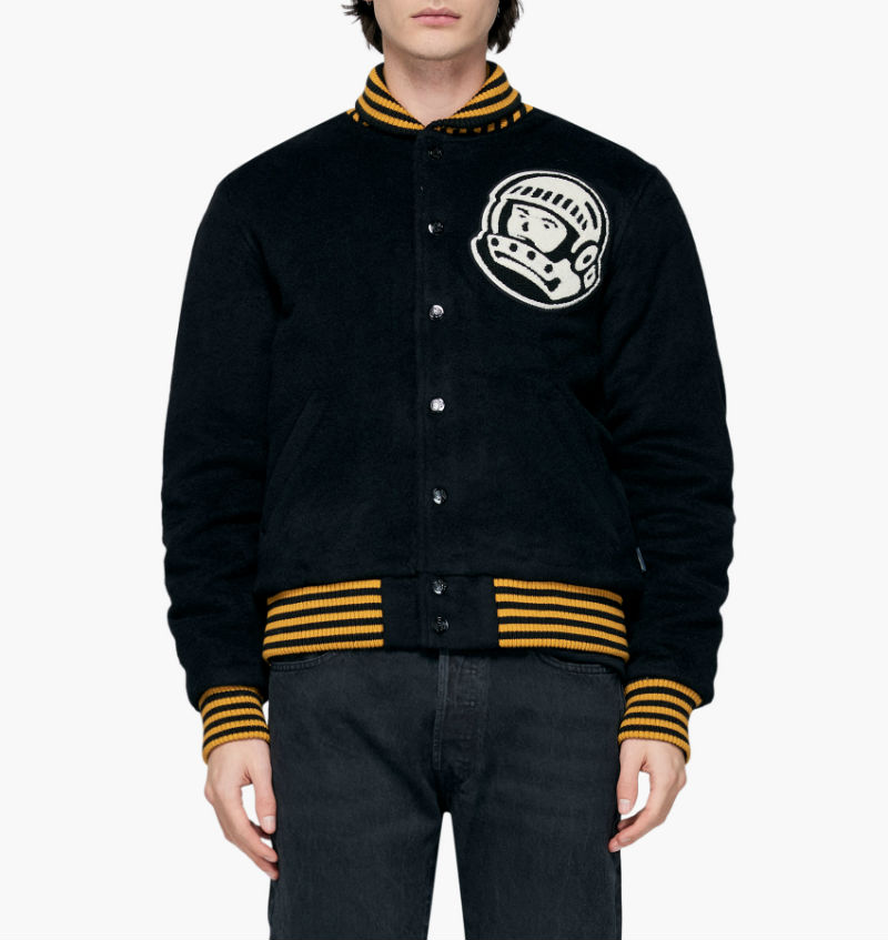 billionaire boys club astro varsity jacket