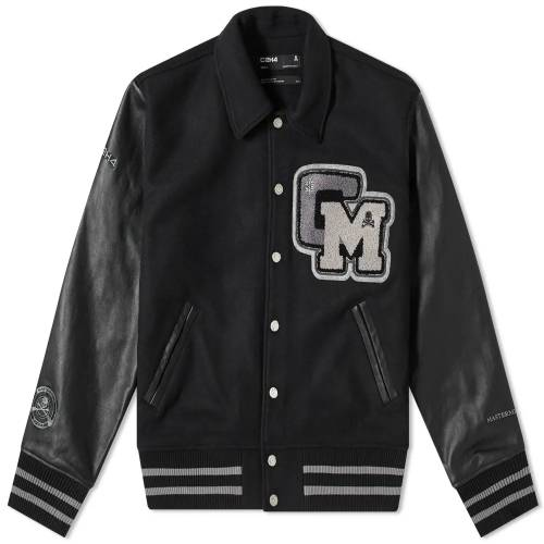 C2H4 X MASTERMIND JAPAN APPLIQUE BASEBALL JACKET