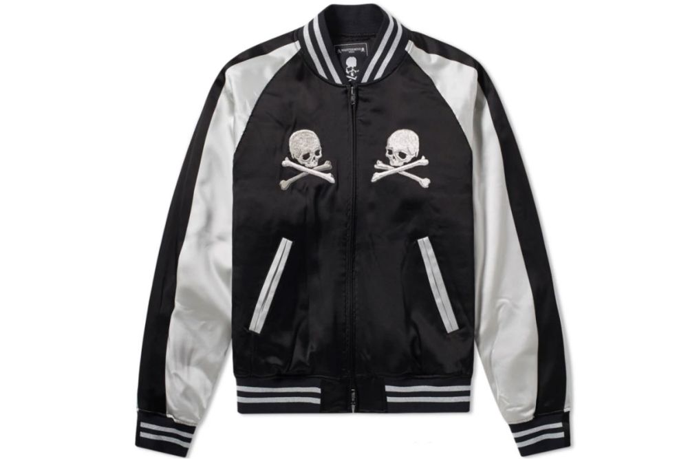 mastermind world skull embroidered souvenir jacket