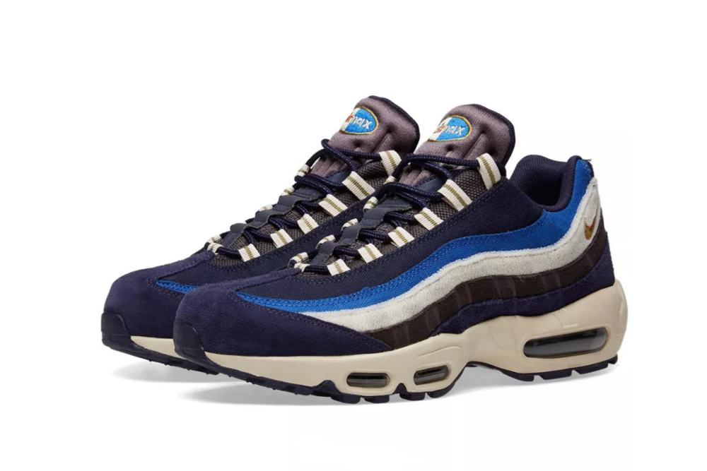 Nike Air Max 95 Premium Blue Green Monarch