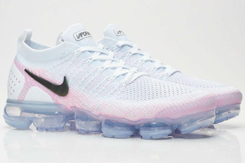 Nike Air VaporMax Flyknit 2 Hydrogen Blue/Pink Beam