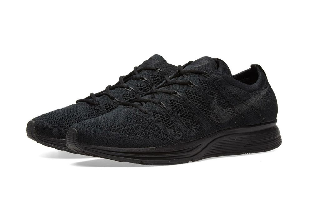 nike flyknit trainer black anthracite