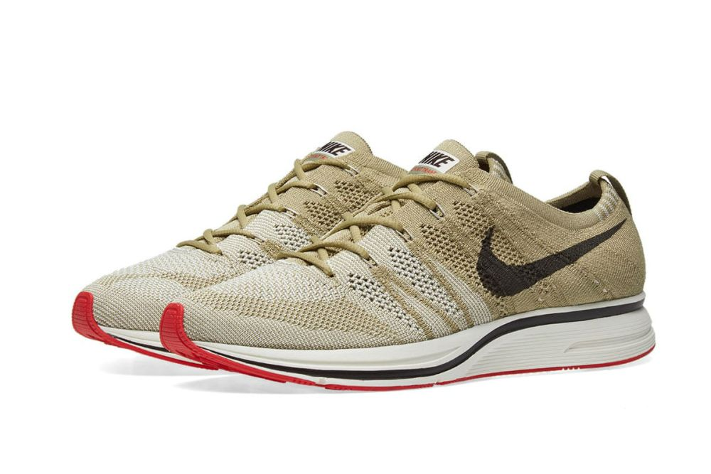 nike flyknit trainer olive brown sail