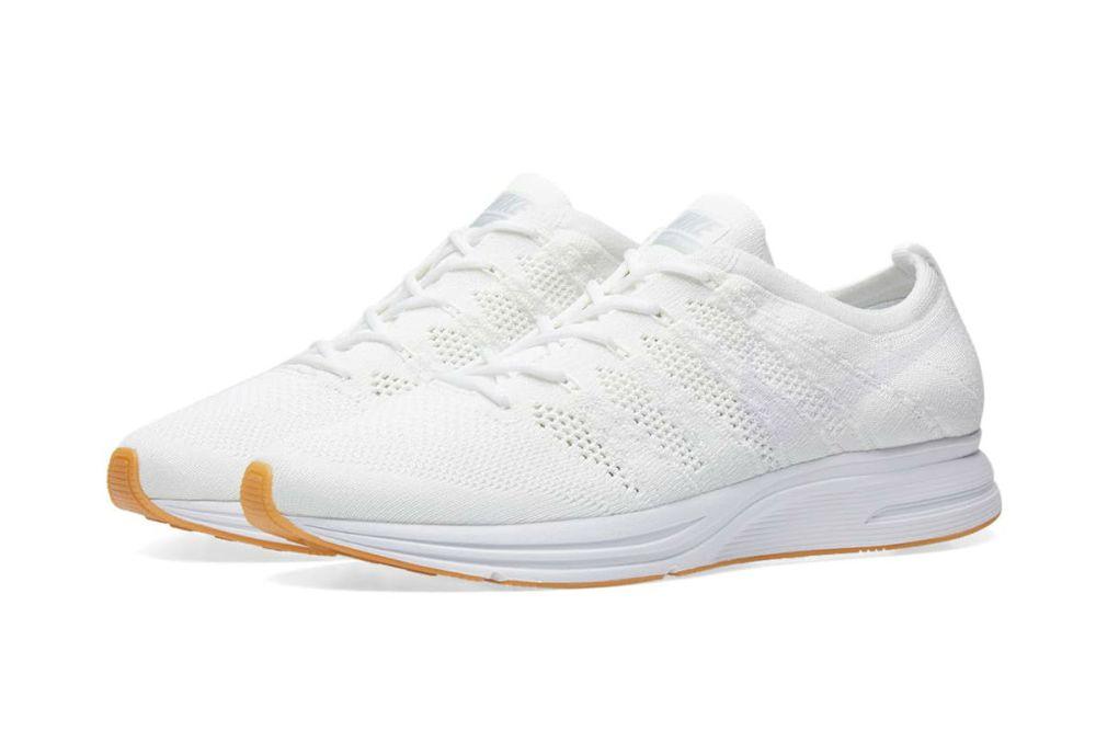 Nike Flyknit Trainer White/Gum