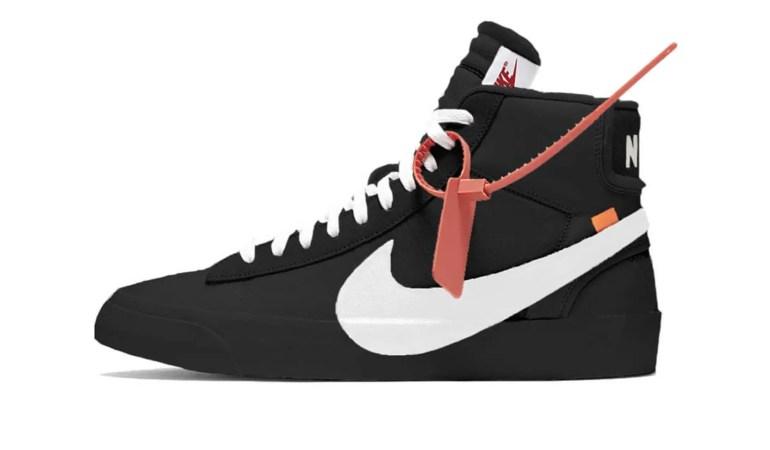 "MORE ""TEN"": New Virgil Abloh x Nike Blazer"
