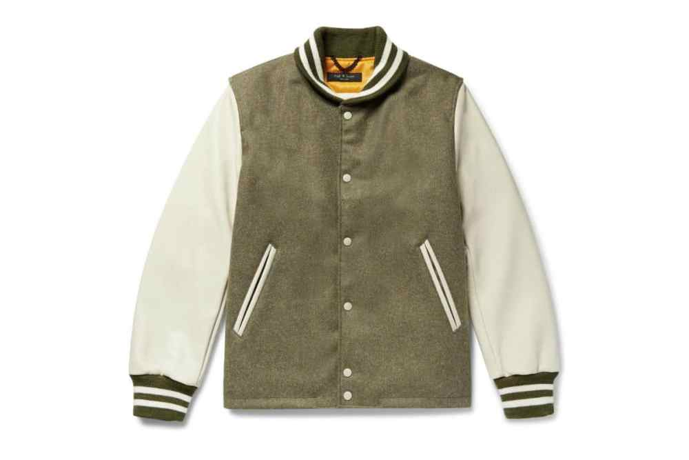 rag & bone + golden bear varsity jacket