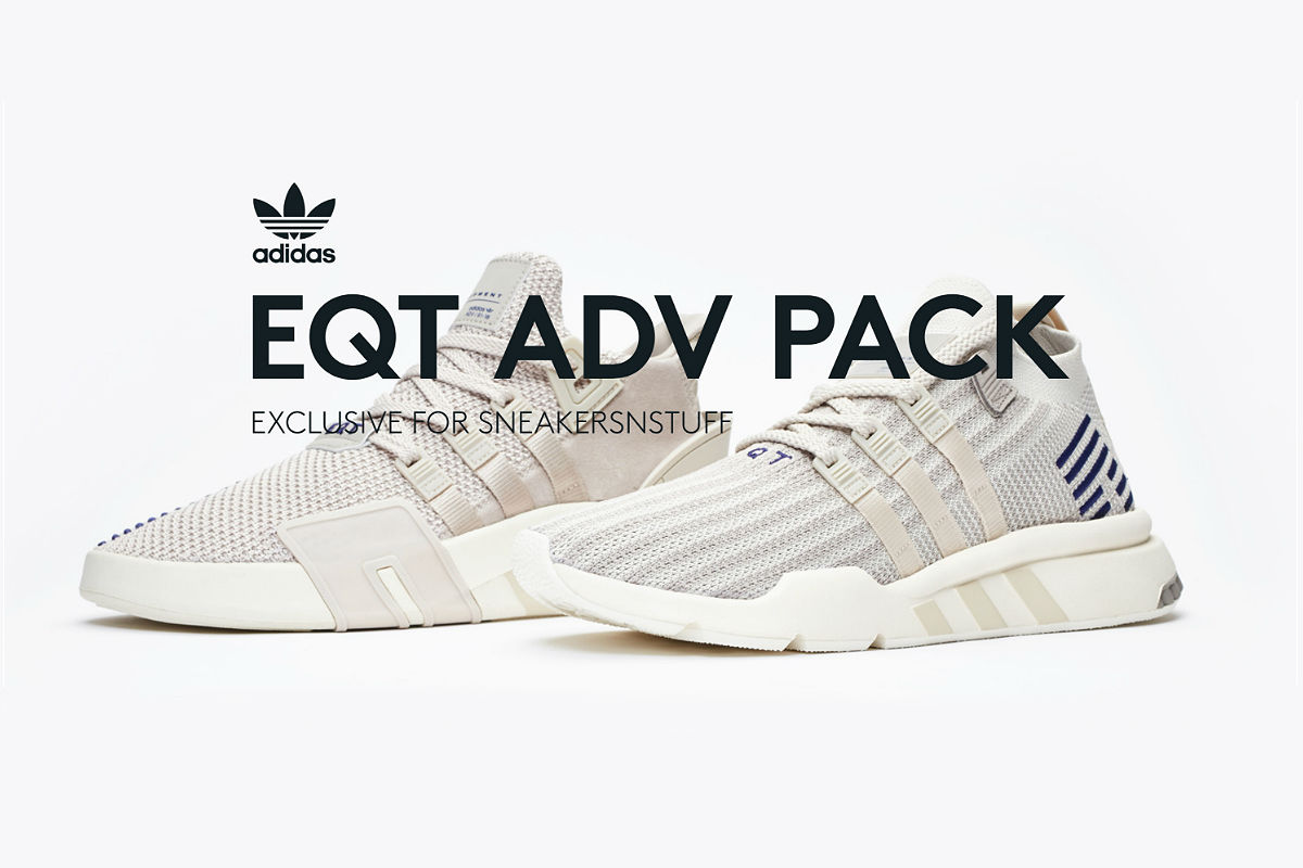 Sneakersnstuff Exclusive adidas Originals EQT ADV Pack