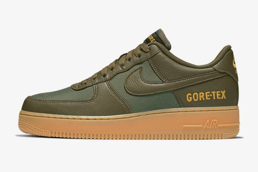 nike air force 1 gore tex Olive/Gold/Black/Sequoia