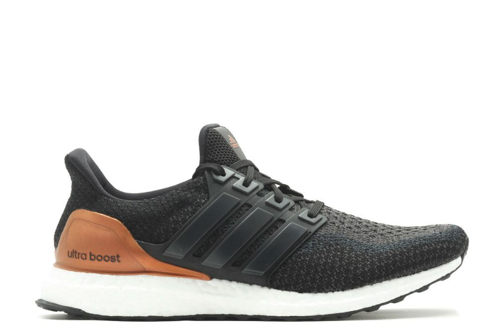 adidas ultra boost bronze medal core black
