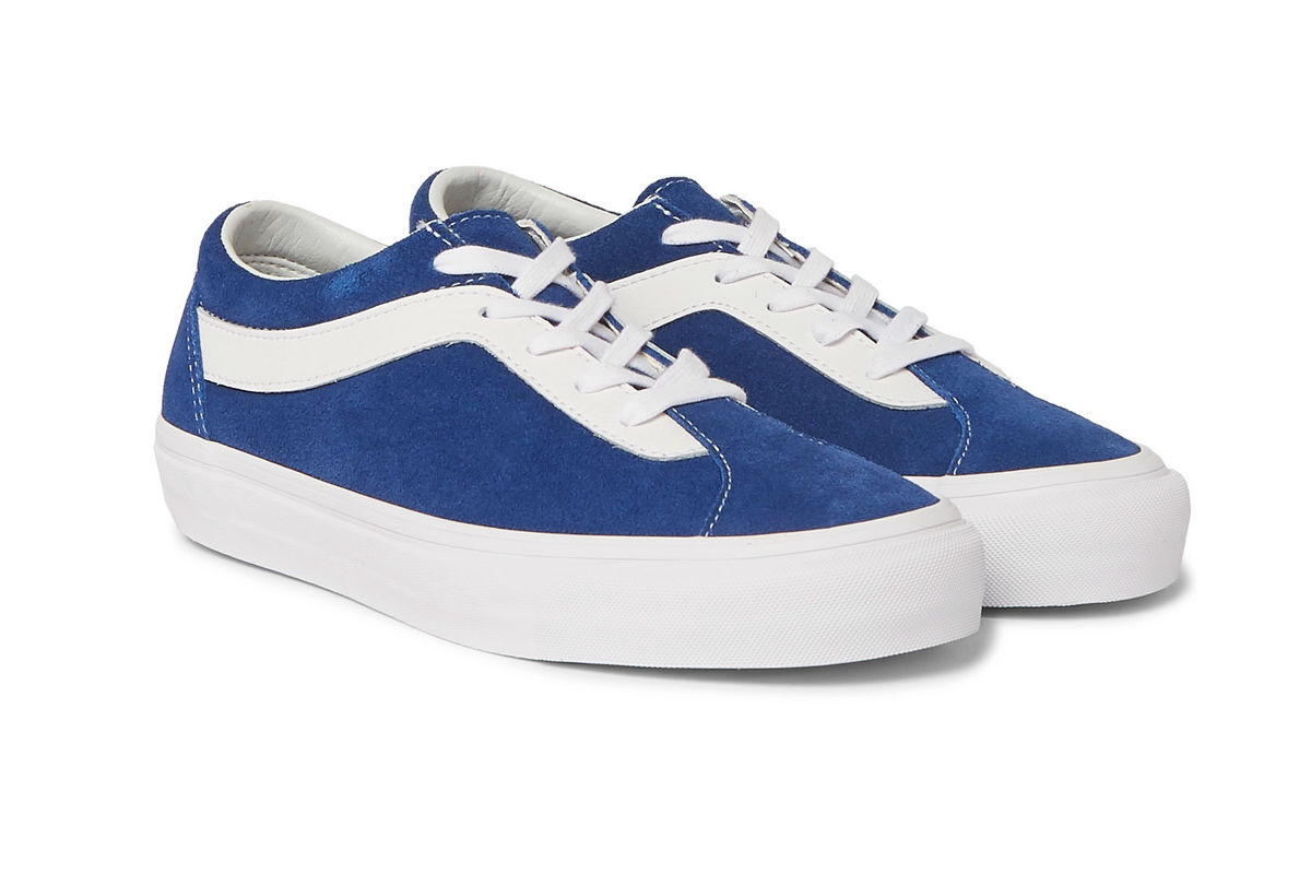 Vans Staple Bold NI in Red and Blue