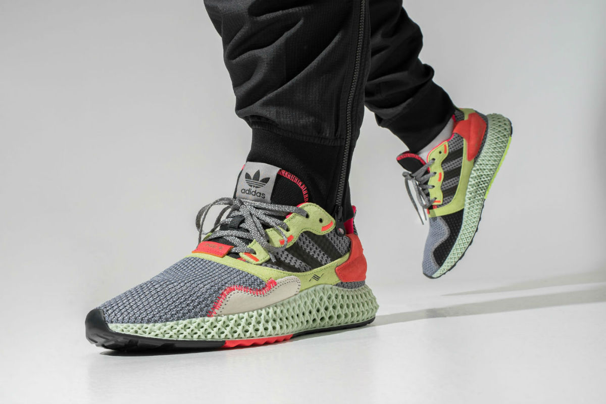 Release Reminder: adidas ZX 4000 4D Yellow Crimson | Cult Edge