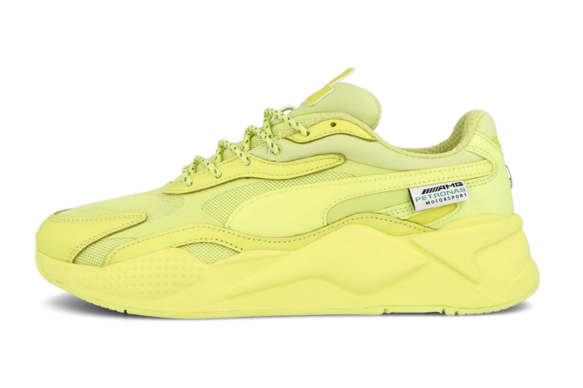 Sunny Lime Covers The Entire Mercedes x Puma RS-X³ AMG ...
