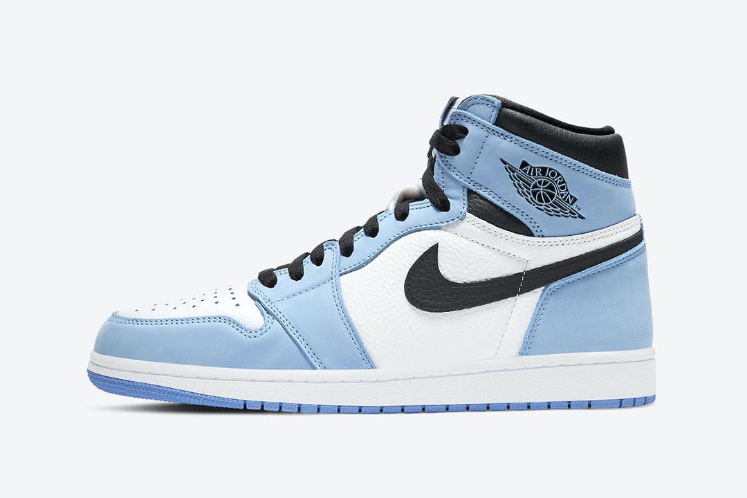 """The Air Jordan 1 """"University Blue"""" is Releasing Next Week"""