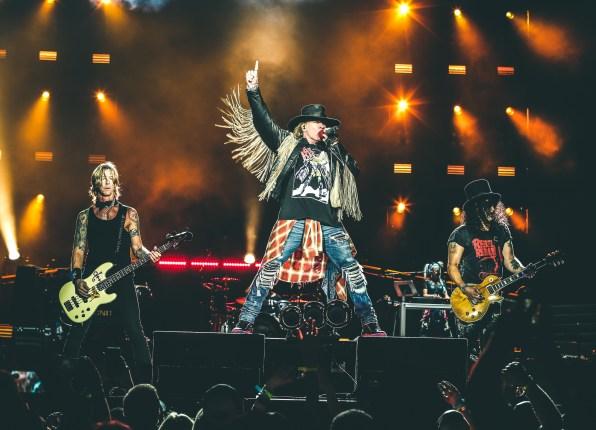 Guns n' Roses na São Paulo Trip