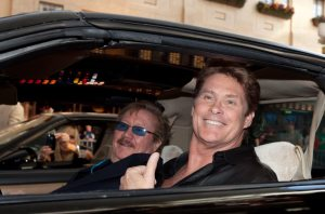 David Hasselhoff and Mayor Goodman Kick Off 2010 Knight Rider Festival in Las Vegas, NV on March 19, 2010