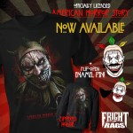 Join the Freak Show with Fright-Rags' American Horror Story, Edward Scissorhands, Vestron Video Collections