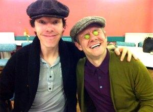 Benedict-Cumberbatch-Martin-Freeman-sherlock-series-3-readthrough