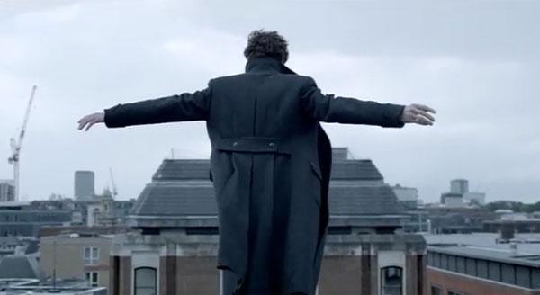 BBC Sherlock Reichenbach Fall Benedict Cumberbatch image