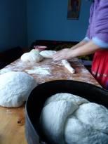 Fabrication du Cozonac pain brioché de fête (4)