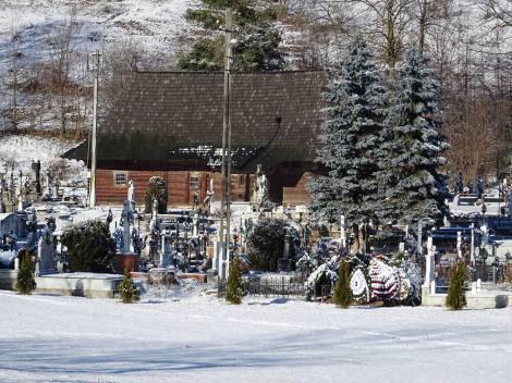 Eglise en bois de Putna