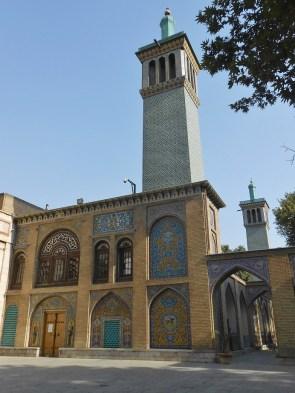 Palais du Golestan - bâtiment des tours à vent