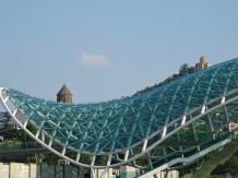Pont de verre de Tbilissi