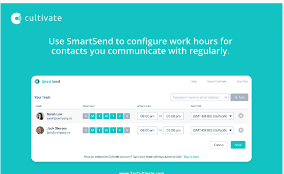Cultivate SmartSend Helps Teams Achieve Better Work- Life Balance